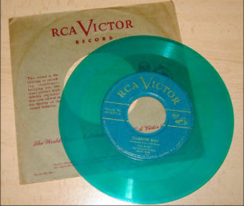DEN ALLER FØRSTE: «Texarkana Baby» med Eddie Arnold ble utgitt 31. mars 1949.