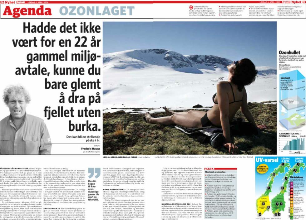 NYE SKRIBENTER: Frederic Hauge er først ut blant en rekke ekspertkommentatorer som er knyttet til Dagbladets nye Agenda-seksjon.