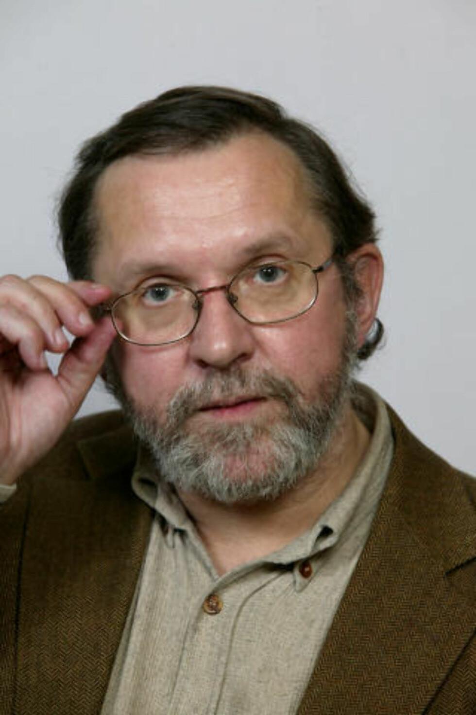 USIKKER:  Politisk redaktør Harald Stanghelle i Aftenposten Foto: Berit Roald / SCANPIX