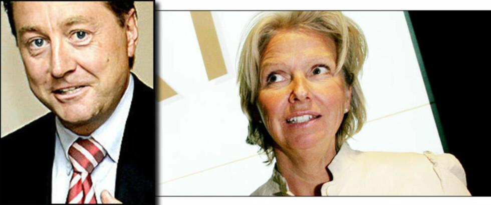 LANGER UT: Statens styrerepresentant i Aker Holding, Berit Kjøll, langer ut mot finansmann Kjell Inge Røkke. Foto: Scanpix