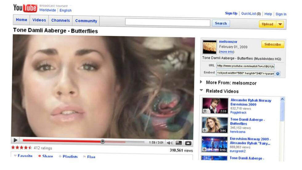 ENORM BASE: Youtube har ekstremt mange musikkvideoer allerede, men sliter med at utgiftene til plateselskaper og musikkforlag er for høye sammenliknet med annonseinntektene. Nå skal en ny side forhåpentlig rette på det. FOTO: FAKSIMILE