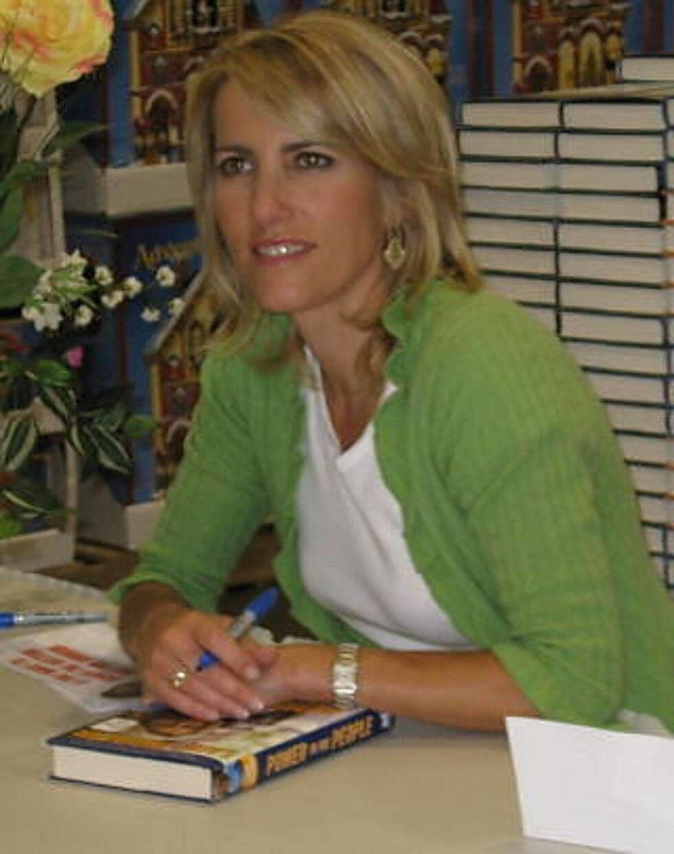 KRITISK TIL MEGHAN: Den konservative radioprateren Laura Ingraham. Foto: WIKIMEDIA COMMONS