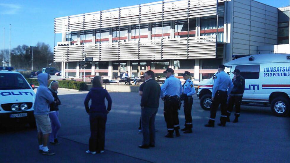 SJOKKERTE: Gårsdagens hendelse rystet Fjellhaug, landets mest profilerte bibel- og misjonsskolesenter. Foto: ROGERIO SNARLI