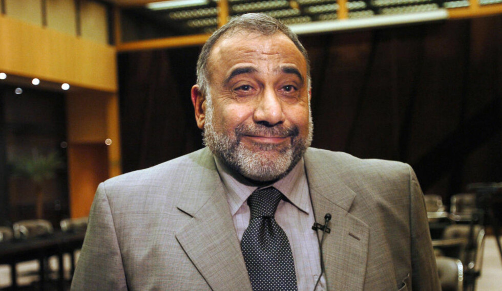 FRIR TIL FLERE: Adel Abdel Mahdi. Foto: AFP/JEAN AYISSI/SCANPIX