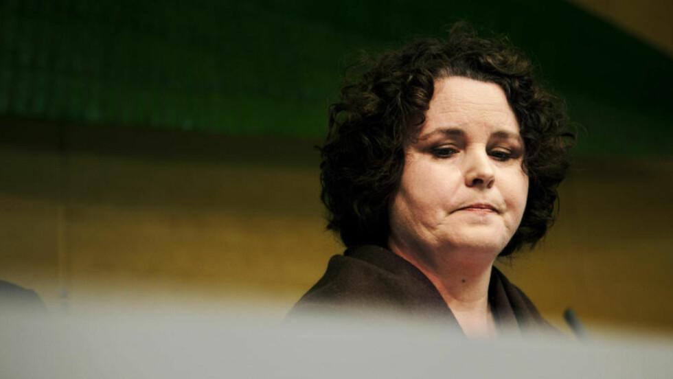 HAR IKKE SNAKKET MED RØKKE: Men nærings- og handelsminister Sylvia Brustad er i samtaler med Aker ASA. Arkivfoto: SCANPIX