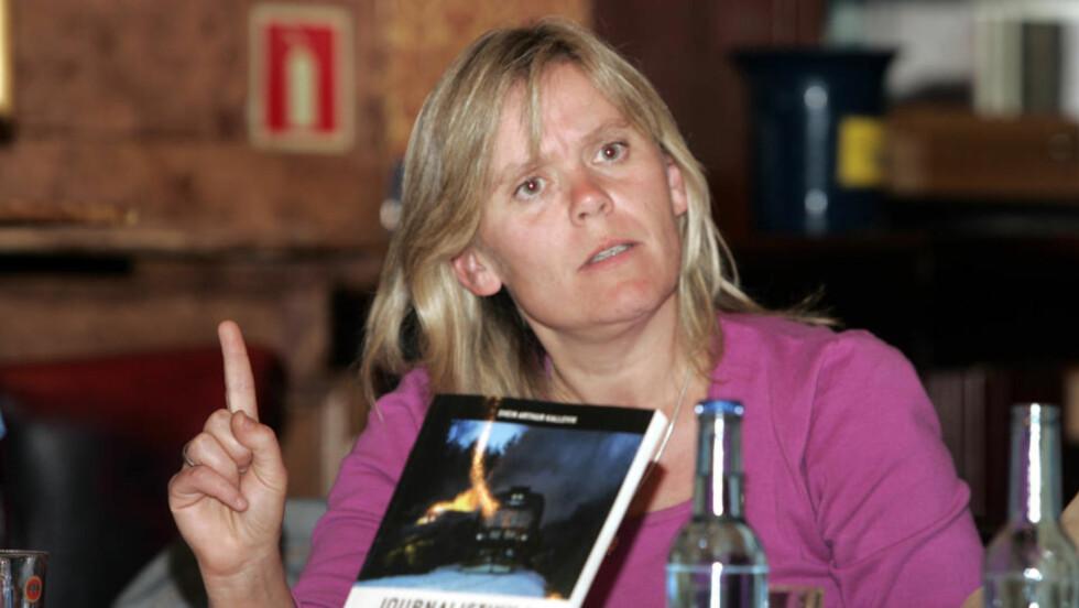 REAGERER: Ada Sofie Austegard (bildet), moren til Stine Sofie som ble drept i Baneheia i mai 2000, mener Bjarte Melgaards bilder av halvnakne smågutter må være ulovlige. Foto: Heiko Junge / SCANPIX.