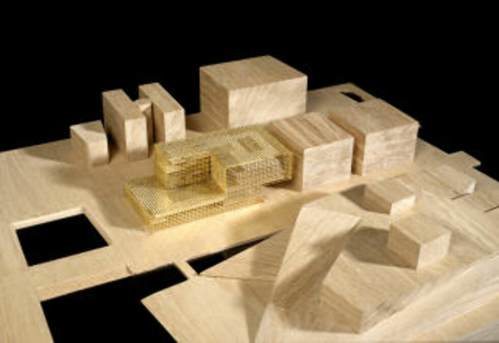 FJERDEPLASS: «Between Brochure» av David Chipperfield Architects (Storbritannia) og Norske Div. A Arkitekter (Norge) kom på delt fjerdeplass i Deichmanske-konkurransen.