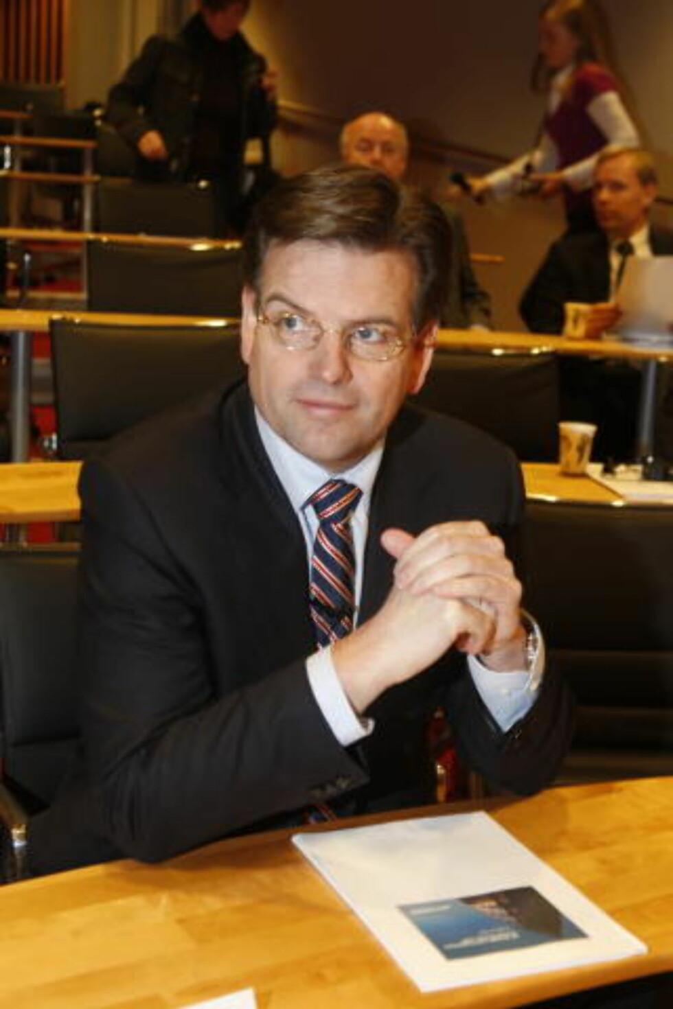 STYRELEDER: Martinus Brandal er styreleder i Aker Solutions. Foto: Terje Bendiksby / SCANPIX