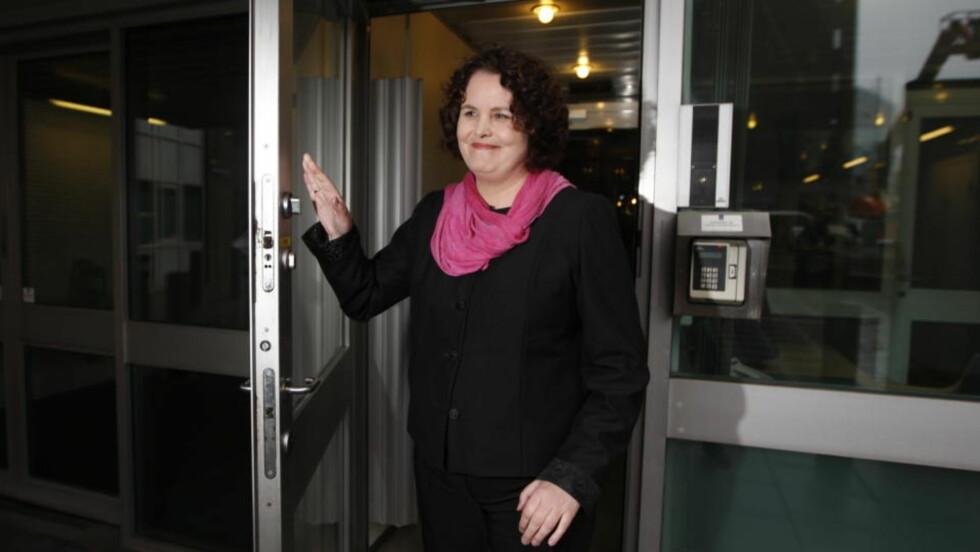 - SAMTALENE FORTSETTER:   Nærings- og handelsminister Sylvia Brustad bekrefter at samtalene med Aker-selskapene fortsetter. Foto Håkon Mosvold Larsen / SCANPIX