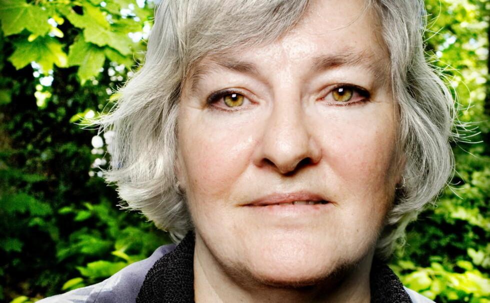 HEDERS MED PRIS: Filosofen Nina Karin Monsen er tildelt årets Fritt Ord-pris. Rart, synes høyres André Oktay Dahl. FOTO: Anniken C. Mohr/Dagbladet