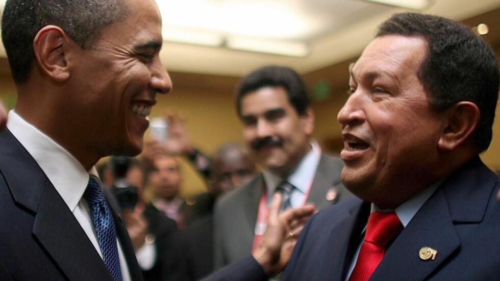 OBAMA: USAs president kommer i en tale han skal holde under toppmøtet i OAS, en organisasjon for land på det amerikanske kontinentet, til å tilby Cuba «en ny start».  EPA/ALFONSO OCANDO