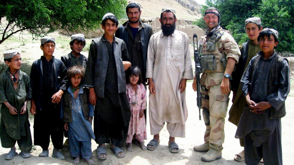 DREPT< Den norske etterretningsoffiseren Trond Petter Kolset ble drept på jobb i nord i Afghanistan. Foto: Forsvaret