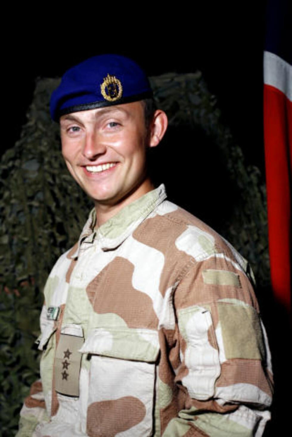 DREPT: Trond Petter Kolset ble drept av en selvmordsbomber i Afghanistan. Foto: Forsvaret