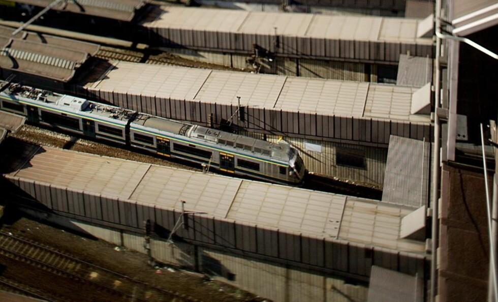TOGENE STÅR: Signalproblemer på Oslo S førere nå til at togene står.  Arkivfoto: Stian Lysberg Solum / SCANPIX .