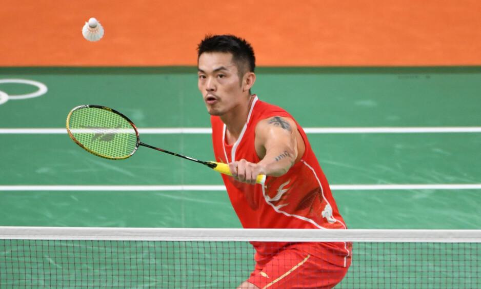 KINA-STJERNE: Dan Lin regnes som en av Kinas aller største sportsnavn. Nå har han tråkket i salaten på privaten. Foto: John David Mercer-USA TODAY Sports
