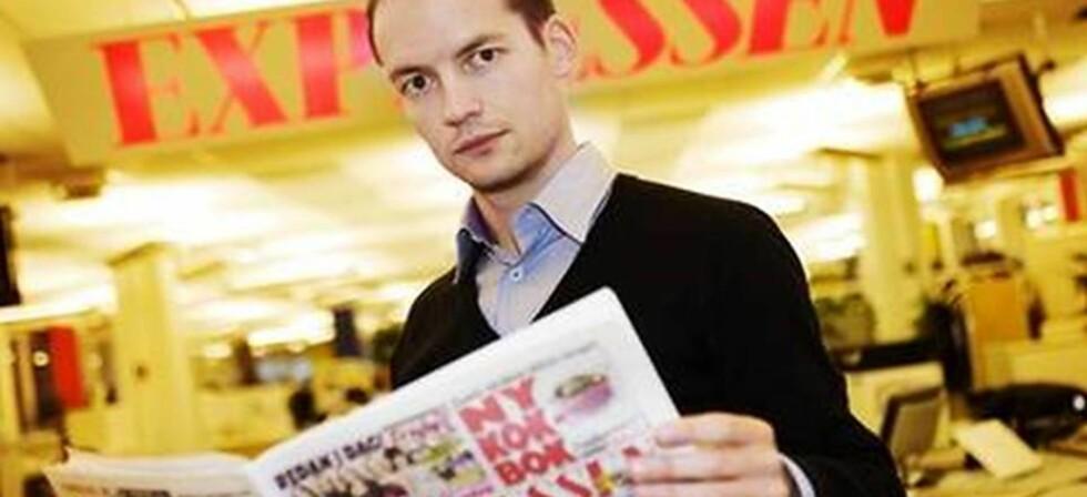 SVÆRT TØFT: Expressen-journalisten David Baas hadde med sikkerhetsvakter, i frykt for hva som ville skje hvis han ble avslørt av dyresexringen. Foto: LINDA FORSELL/EXPRESSEN