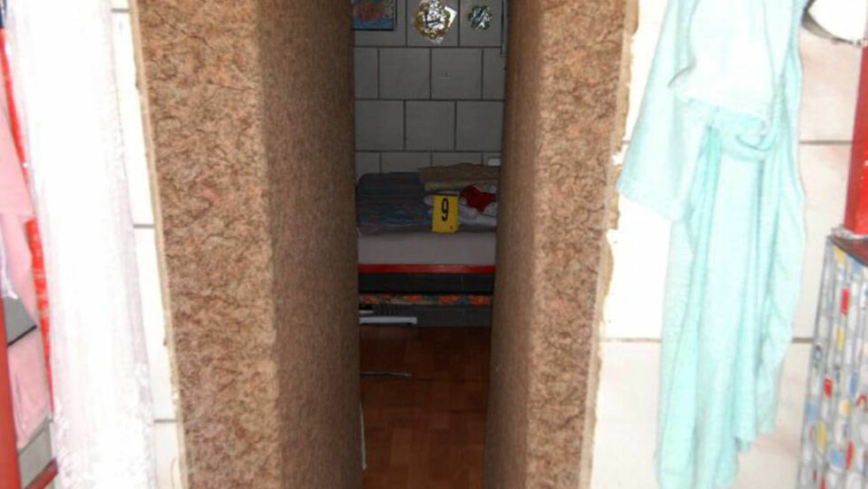 KJELLEREN: I denne kjelleren tilbrakte Elisabeth Fritzl 24 år av sitt liv. Her ble hun utsatt for tusenvis av groteske overgrep. Foto: Police Niederoesterreich/SCANPIX