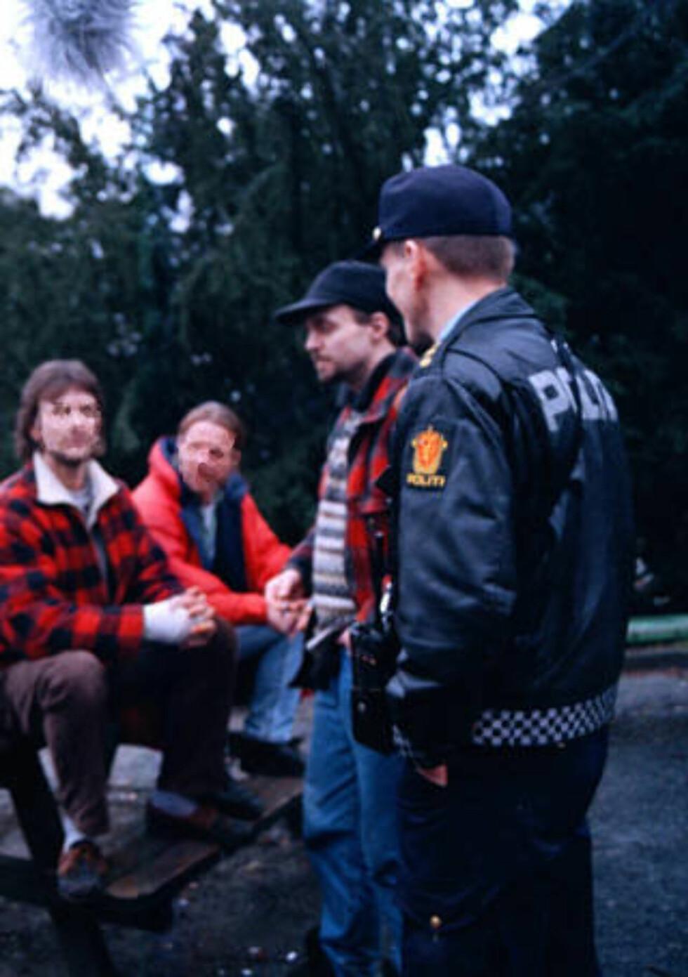 NYGÅRDSPARKEN: Mange av de narkomane i Bergen oppholder seg i Nygårdsparken. I følge politiet er miljøet voksende. Foto: DAGBLADET