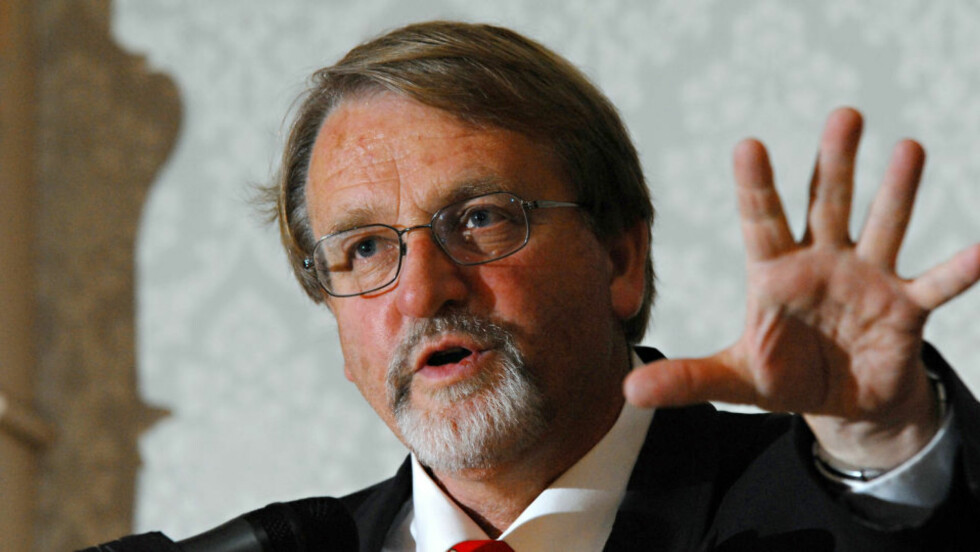 SKUFFET: Professor Bernt Hagtvet anmeldte HegnarOnline. Foto: SCANPIX