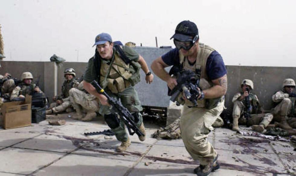OMSTRIDT: Blackwater har hatt over 1000 ansatte i Irak, og mange av sikkerhetsselskapets aktiviteter har vært kontroversielle. Blant annet skal de private leiesoldatene ha deltatt i regulære kamper sammen med vanlige amerikanske soldater.