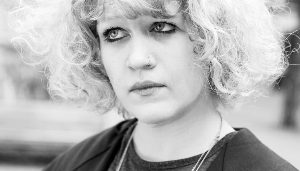 KAN FÅ PRIS: Heidi Sævareid er nominert til Brageprisen for tredje gang. Prisen deles ut neste uke. Foto: GYLDENDAL / INGRID POP