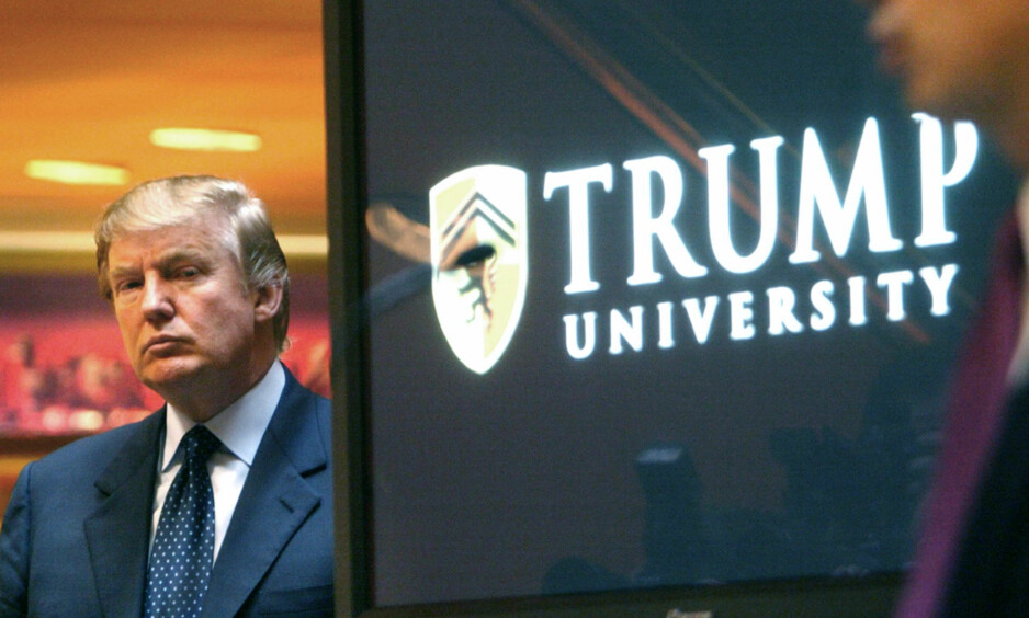 FORLIK: Donald Trump har inngått forlik i saken knyttet til Trump University, opplyser statsadvokaten i New York. Forliket omfatter utbetalinger på 25 millioner dollar. Foto: AP / NTB Scanpix
