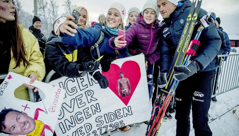 IKKE BARE FANSENS HELT: Alle i langrennsmiljøet vil ha Petter Northug tilbake i form. Her fra vinterens første mislykkete konkurranse under åpningsrennet på Beitostølen FOTO: Bjørn Langsem / Dagbladet.