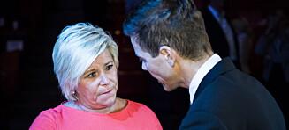 Anklager Hareide for lekkasjer
