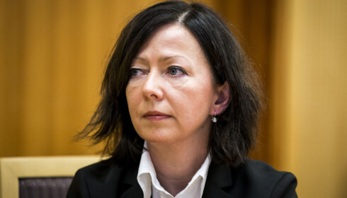 ETTERFORSKER POLITIET: Liv Øyen, etterforskningsleder i Spesialenheten Øst-Norge. Foto: Erlend Aas / NTB Scanpix