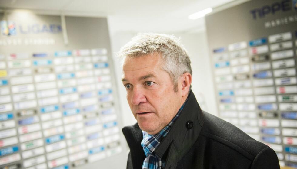FORBANNET: Rosenborg-trener Kåre Ingebrigtsen. Foto: Fredrik Varfjell / NTB Scanpix