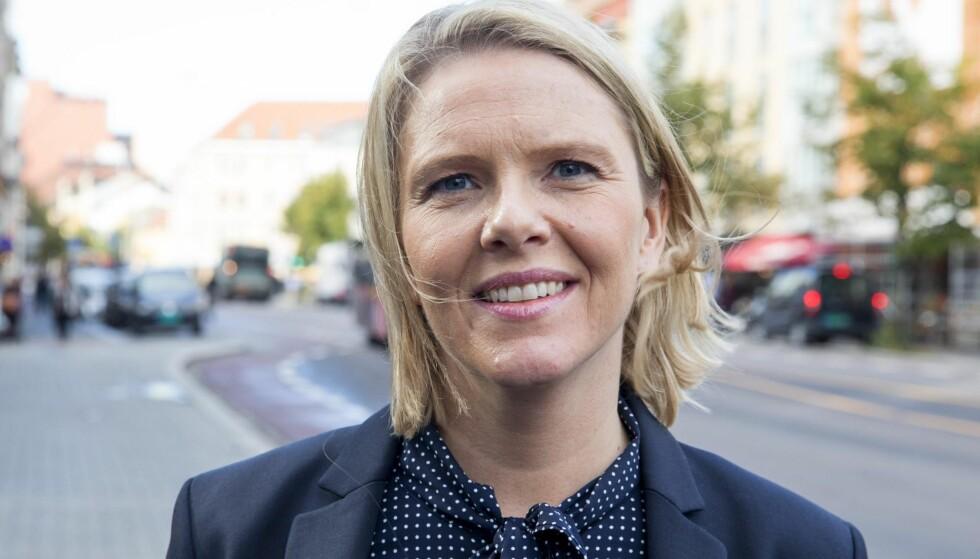 Innvandrings og integreringsminister Sylvi Listhaug gikk i helgen til angrep på en kommentator i Dagsavisen som hun mente hadde skrevet en artikkel som var «gjennomsyret av hat». Foto: NTB Scanpix