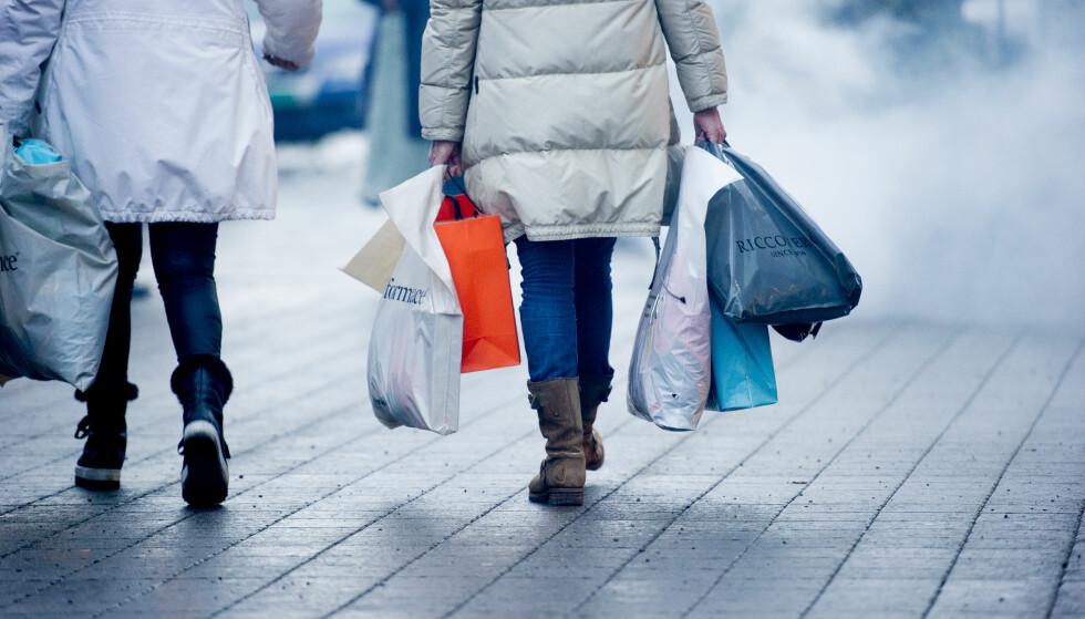 ALTERNATIV: Istedet for å kjøpe nytt, kan man bytte, mener DNT ung. Foto: Jon Olav Nesvold / NTB scanpix