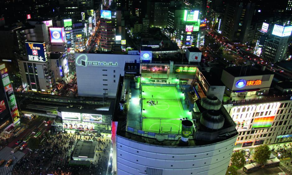 TOKYO: Adidas Futsal Park er absolutt et sted man bør dra for å spille fotball i Japan. Foto: FourFourTwo/Haymarket