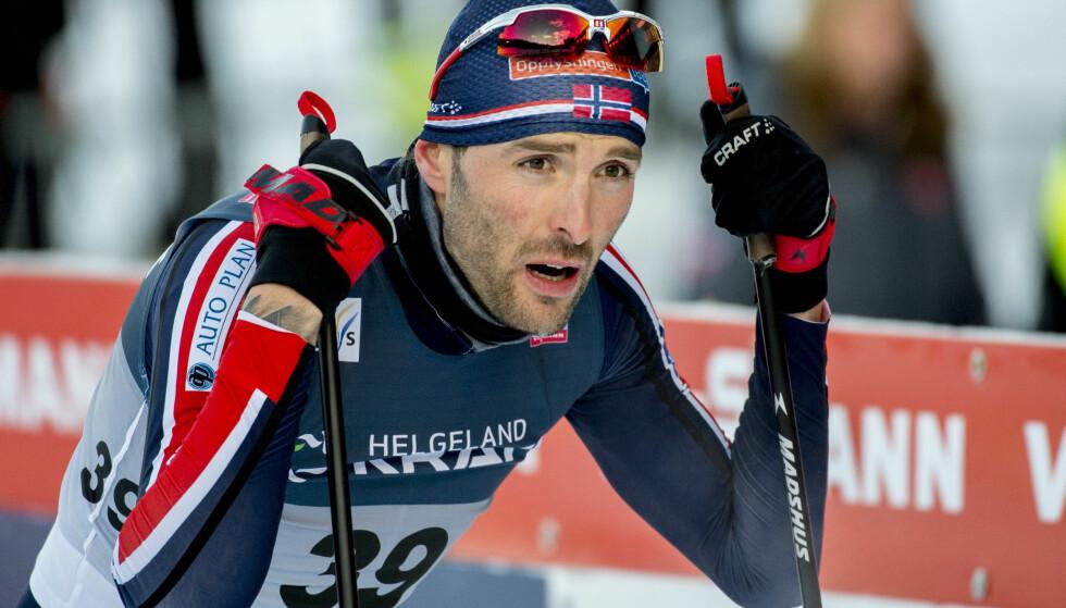 TILBAKE ETTER TØFF PERIODE: Kombinertløper Magnus Moan. Foto: Ned Alley / NTB Scanpix