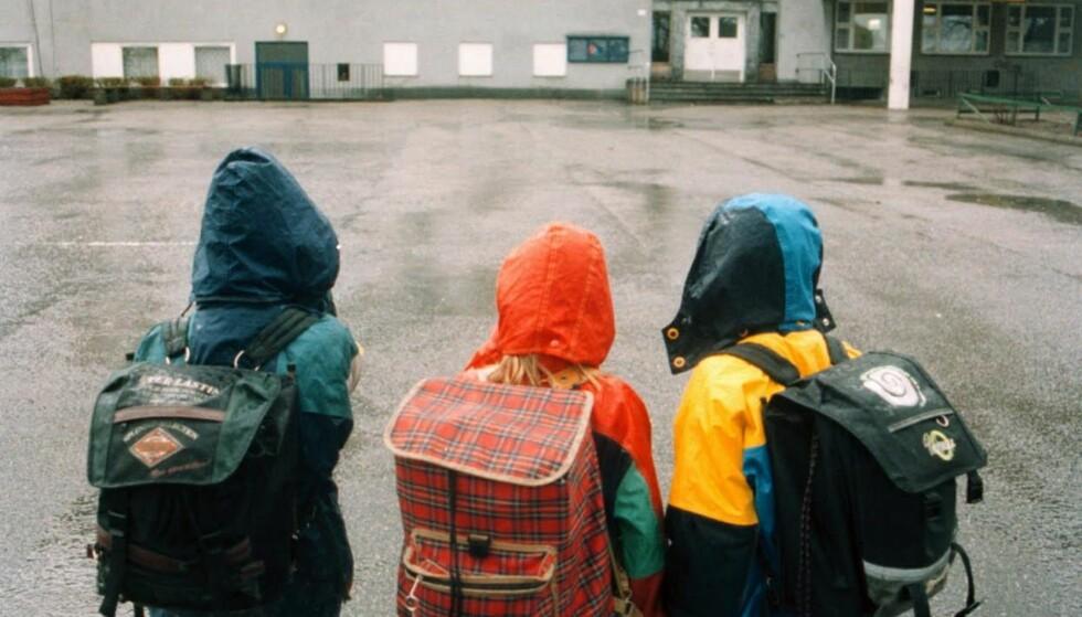 PROBLEM: Om du vil lage skolen umotiverende ville du laget den norske skolen. Foto: Stig Sandmo, Dagbladet