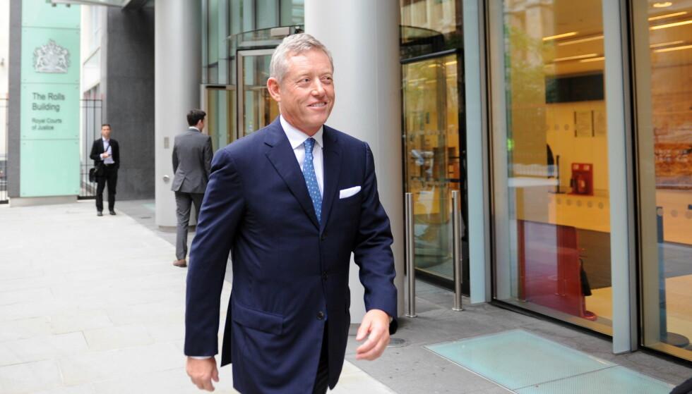 MILLIARDSMELL: I 2013 gikk den norske milliardæren Alexander Vik (bildet) på en smell i retten i London. Siden da har Deutsche Bank kjempet for å inndrive pengene banken har til gode hos Vik-selskapet Sebastian Holdings. Foto: Keith Hammett