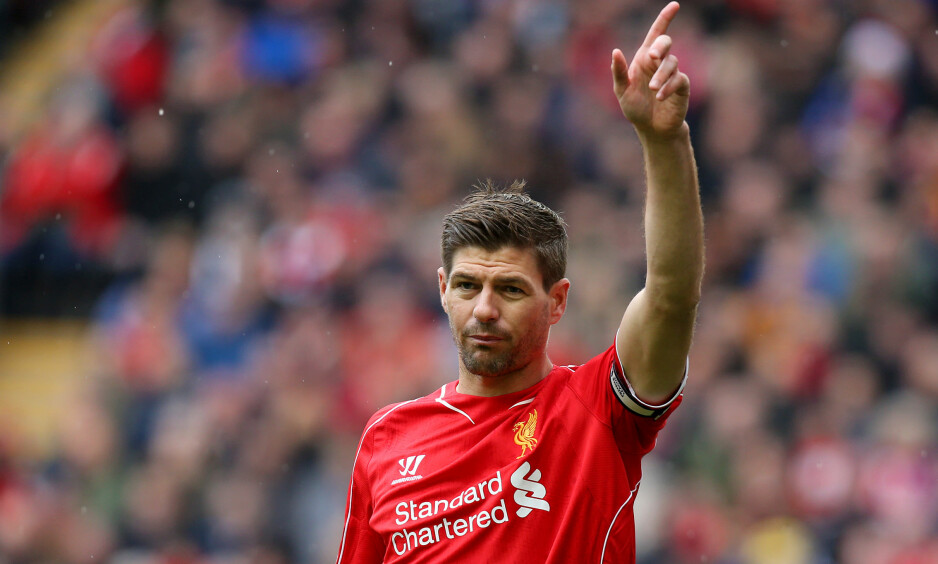 SLUTT: Liverpool-legenden Steven Gerrard legger opp. Foto: NTB Scanpix