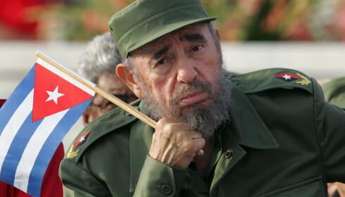 DØD: Cubas Fidel Castro døde i natt. Foto: REUTERS