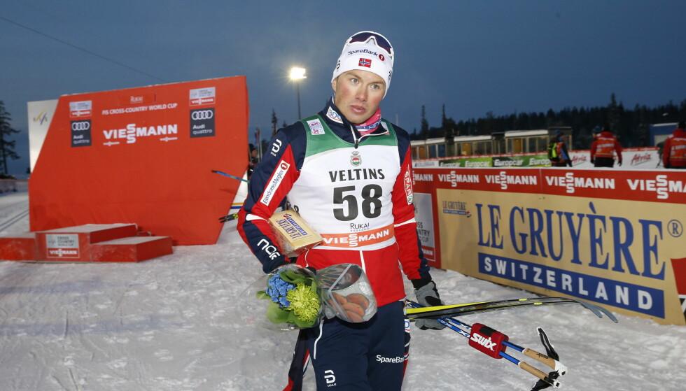 SLO TILBAKE: Emil Iversen røk ut av kvartfinalen i gårsdagens sprint, men slo tilbake med 2. plass på dagens 15-kilometer. Foto: Terje Bendiksby / NTB scanpix