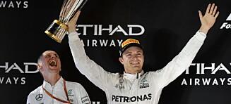 Rosberg ble verdensmester: - Uvirkelig