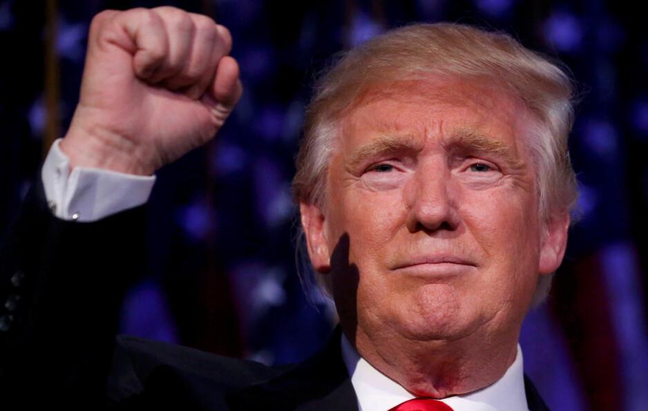 SNART PRESIDENT: - Jeg har full forståelse for dem som frykter Donald Trump som USAs president, skriver artikkelforfatteren. Foto: Carlo Allegri / Reuters / NTB Scanpix