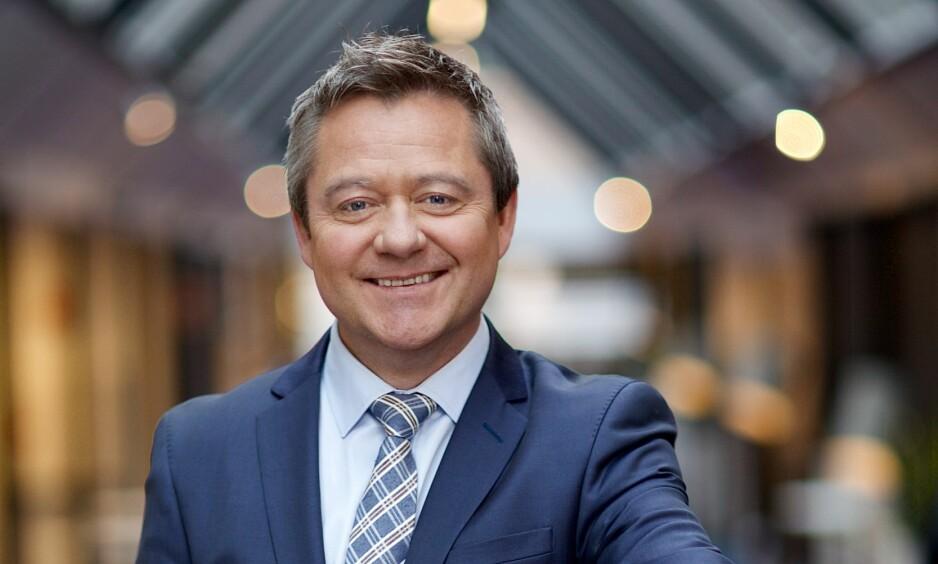 NY PROGRAMLEDER: Morten Sandy blir programleder i «God morgen Norge» fra januar og fram til sommeren. FOTO: TV 2.