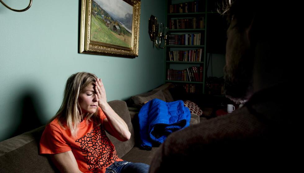 OVERRASKET: Therese Johaug  og hennes manager Jørn Ernst er overrasket over Påtalenemndas innstilling. Foto: Bjørn Langsem / Dagbladet