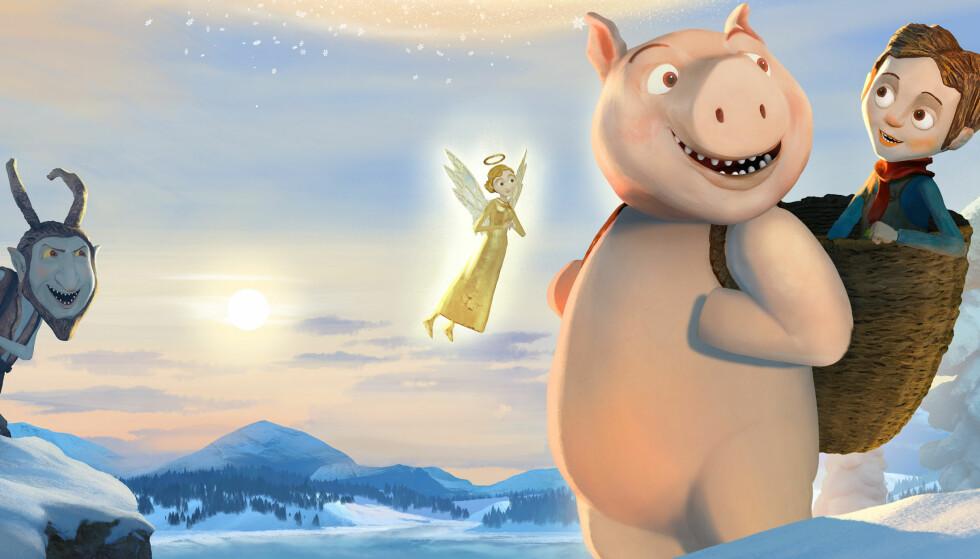 TERNINGKAST FIRE: «Den magiske juleesken» er et besynderlig sammensurium av juletradisjoner, skriver Dagbladets anmelder.