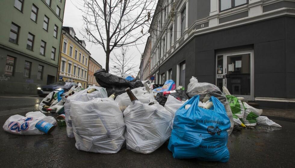 SØPPEL: Mislykket privatisering i Oslo