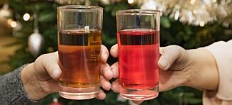 Brun eller rød: Hvilken farge skal julebrusen ha?