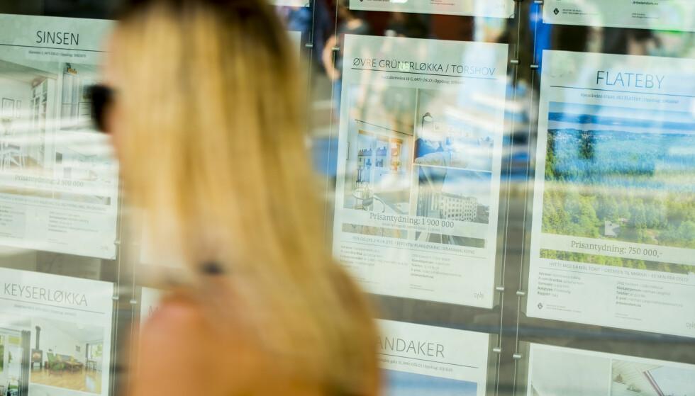 AVKJØLING: Boligmarkedet har vært hett lenge, men viser nå tegn til avkjøling. Foto: Vegard Wivestad Grøtt / NTB scanpix