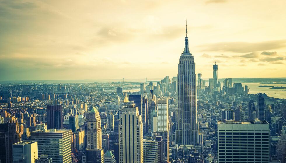 HASHTAG-KONGEN: New York er den av verdens byer som hyppigst blir tagget på Instagram. Foto: Shutterstock / NTB Scanpix