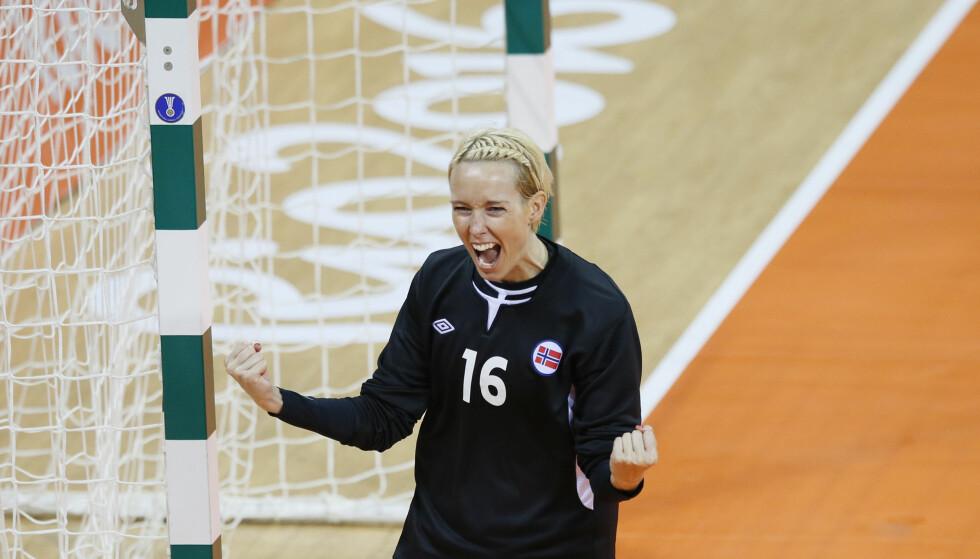 TIL VIPERS: Håndballstjernen Katrine Lunde vender hjem til Norge. Målvakten har signert en treårskontrakt med Vipers Kristiansand. Foto: Cornelius Poppe / NTB scanpix