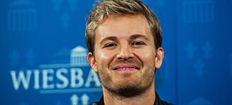 Formel 1-stjerna Nico Rosberg med sjokkbeskjed: Legger opp